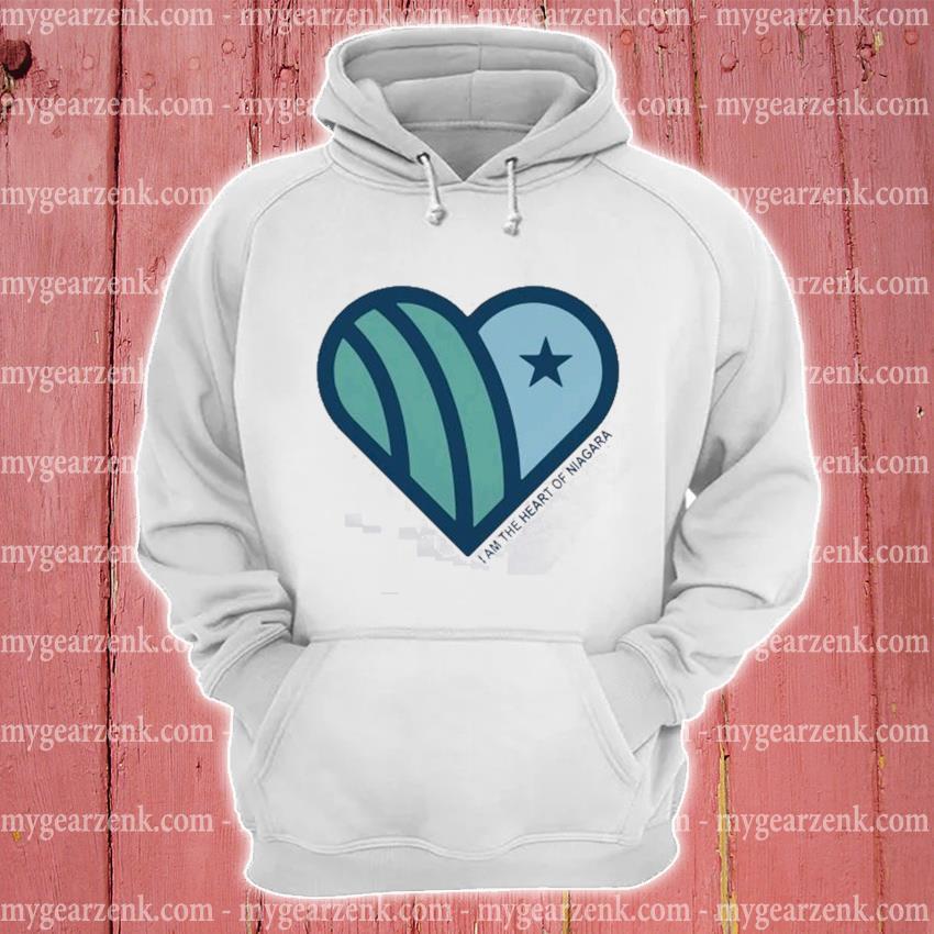 I am the heart of niagara s hoodie