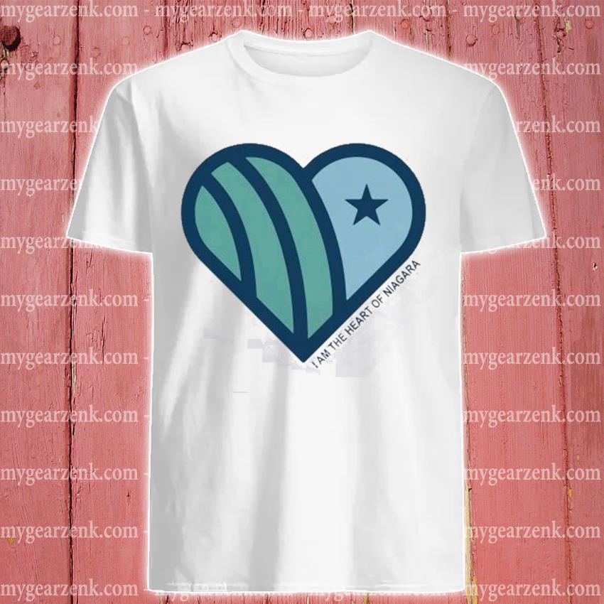 I am the heart of niagara shirt