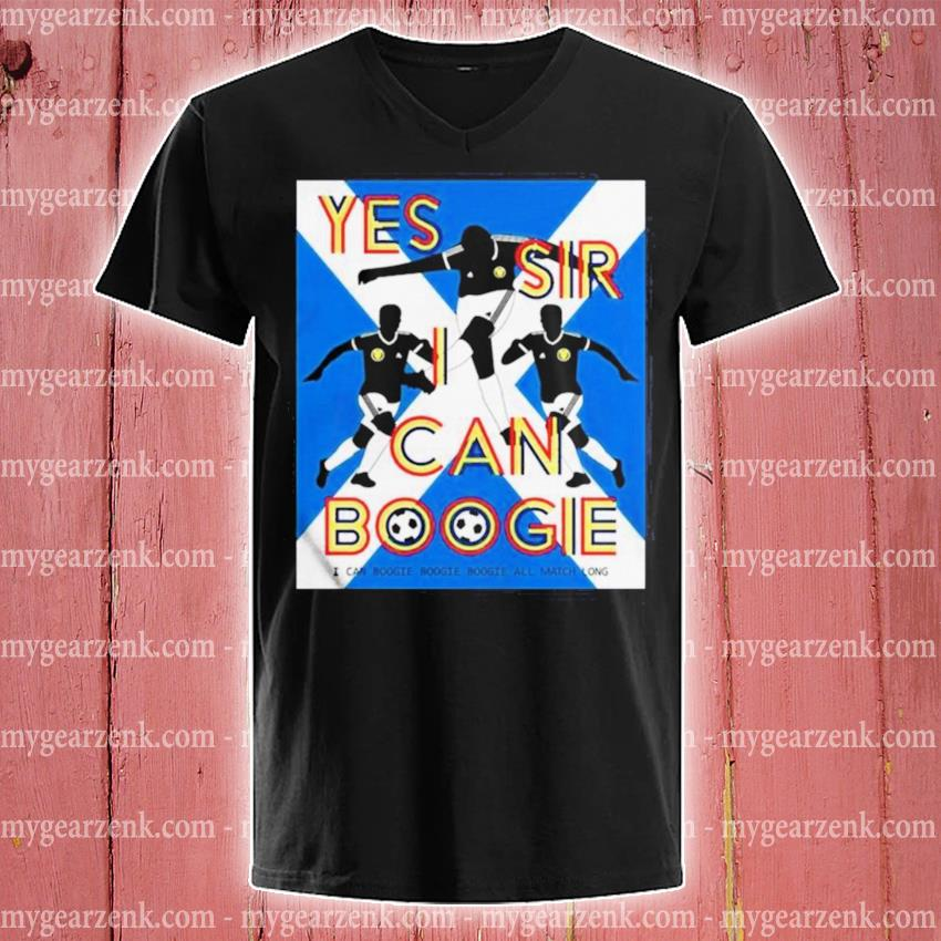 Yes sir I can boogie s v-neck-tee