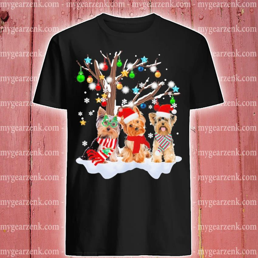 Yorkshire Terrier happy merry Christmas 2020 shirt